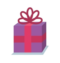 Gift birhtday present icon vector