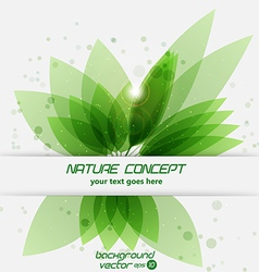 Leaf concept 2 vector