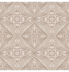 Abstract beige pattern vector image vector image