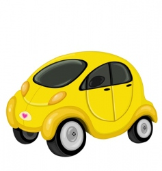 cute car vector image vector image
