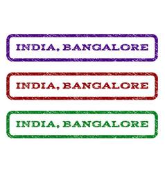 india bangalore watermark stamp vector image vector image