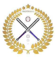 The theme baseball vector