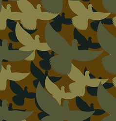 Military camouflage pigeons birds protective vector