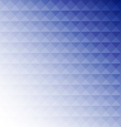 Abstract blue mosaic design background vector image