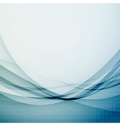 Abstract wave swoosh modernistic background vector image