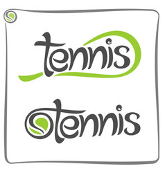 racket of lawn tennis vector image