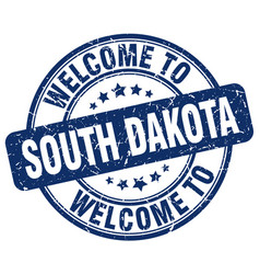 Welcome to south dakota vector