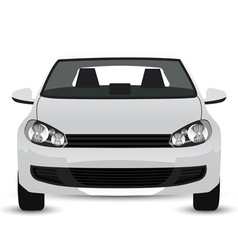 White car vector