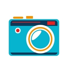camera retro vintage isolated vector image