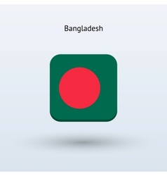 Bangladesh flag icon vector