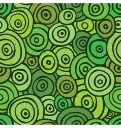 Pop art retro seamless pattern green vector