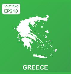 Greece map icon business concept greece pictogram vector