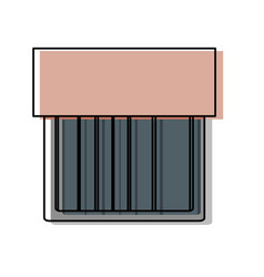 Silverware box vector