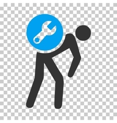 Service courier icon vector