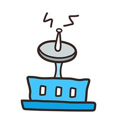 icon Antenna vector image