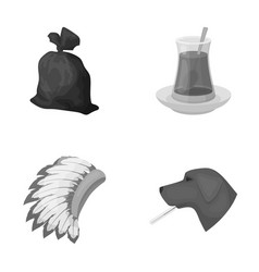 Rest ecology animals and other web icon in vector