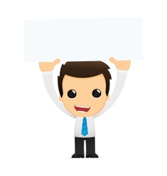 Cartoon office worker vector