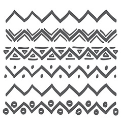 Lines hand drawn design element vector