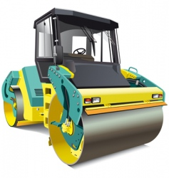 double roller vector image vector image