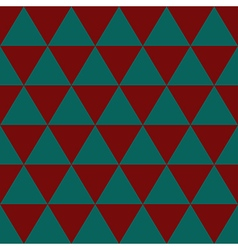 Red indigo green triangle background vector