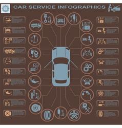 Car service infographics 29 1 vector