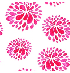 Pink watercolor pattern vector