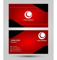 Creative and elegant business card design vector