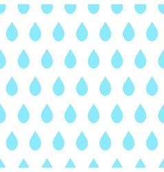 Blue rain white background vector