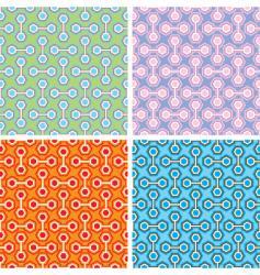 abstract hexagonal pattern vector image