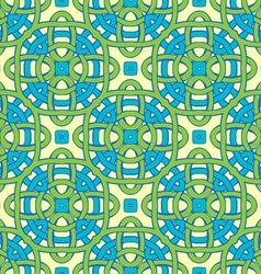 Interlacing seamless pattern vector image