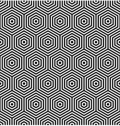 Seamless thexagonal texture vector image vector image