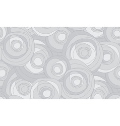 pattern of gray clouds vector image