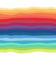 Abstract rainbow seamless background vector