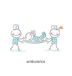 Ambulance vector