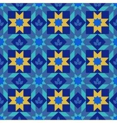 Arabic seamless patterns vector