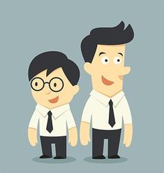 Buddy vector image vector image