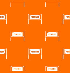 finish line gates pattern seamless vector image vector image