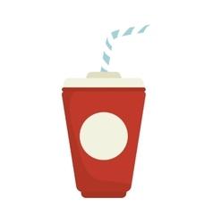 Takeaway drink beverage vector