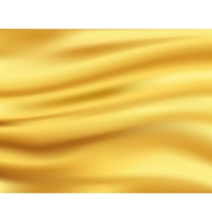 Yellow waves background vector image
