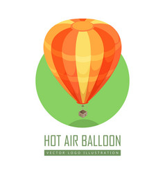 Balloon icon in isometric projection vector