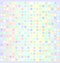 Polka dot pattern seamless geometric dot vector