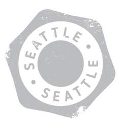 Seattle stamp rubber grunge vector