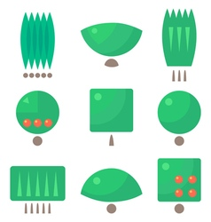 Tree logos vector