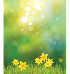 spring back vector image