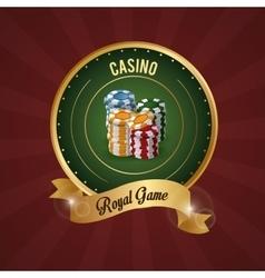 Casino design game icon colorfull vector