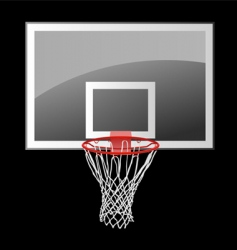 basketball backboard vector image vector image
