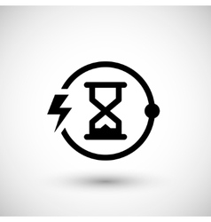 Charging time icon vector image vector image