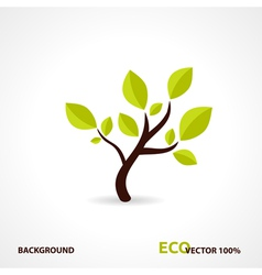Eco tech design vector