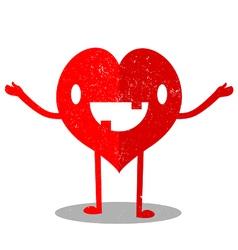 Heart Cartoon vector image