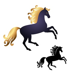 Horse perfect vector image
